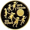 1979 Canada $100 International Year of the Child 22K Gold Coin